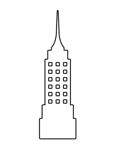 skyscraper coloring page www pixshark com images