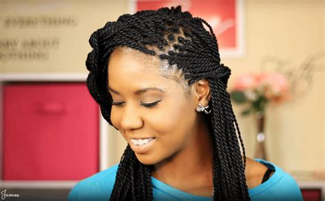 what type of hair is used for singalese twist senegalese twist hairstyles how to do hair type pictures