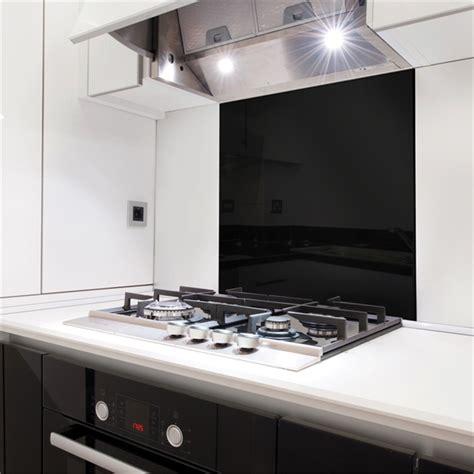 Bunnings Splashbacks For Kitchens by Stein 600mm Black Glass Splashback Bunnings Warehouse