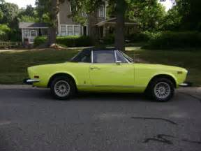 Fiat 124 Spider For Sale Craigslist 1974 Fiat 124 Spider 124 Yellow Craigslist Cars For Sale