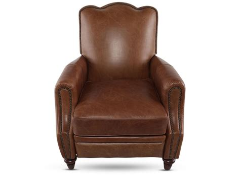 henredon recliners henredon leather recliner mathis brothers furniture