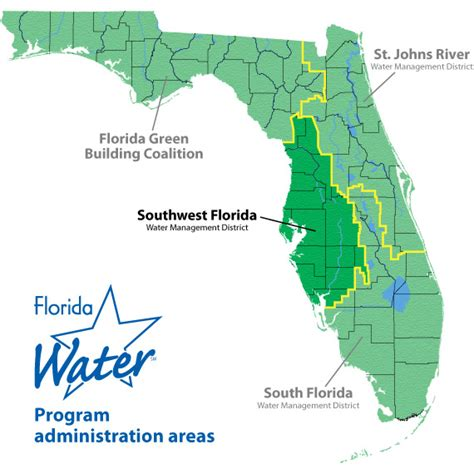 map of st county florida florida water swfwmd information
