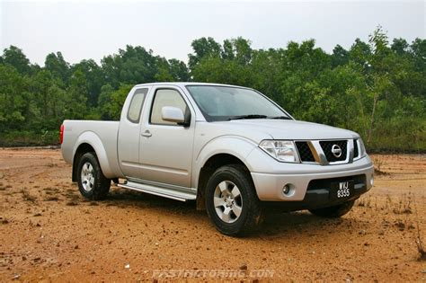 new nissan navara king cab nissan navara king cab test drive review in malaysia