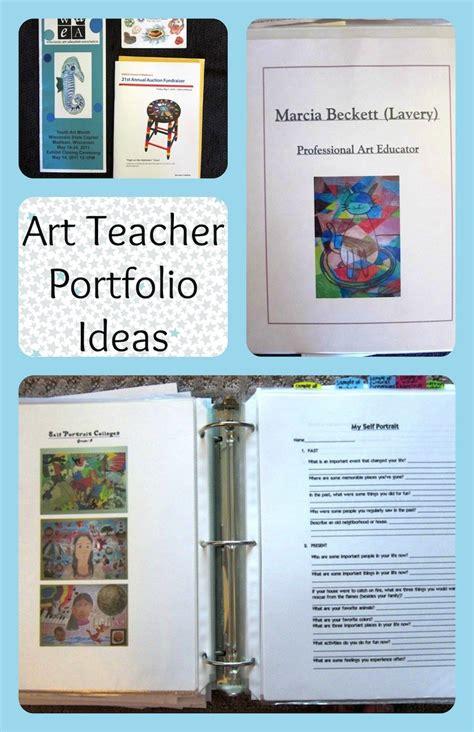 Art Teacher Portfolio Ideas For An Interview Art Is Basic An Elementary Art Blog Teaching Portfolio Template Free
