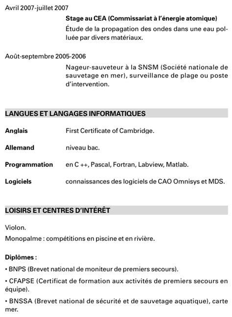 Lettre De Demande De Visa Longue Durée Modele Cv Etudiant En Medecine Cv Anonyme