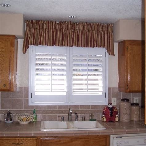Over The Sink Kitchen Window Treatments Kitchen Window Treatments Above Sink