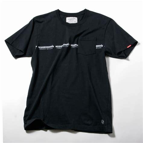 design a shirt with pocket neighborhood x fragment design pocket t shirt