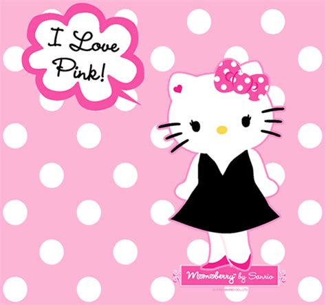 imagenes kitty rosa hello kitty con vestido negro y mo 241 o rosa con lunares