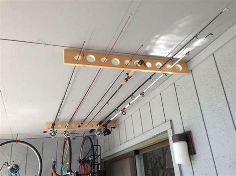 Fishing Pole Garage Storage Ideas 35 Diy Garage Storage Ideas To Help You Reinvent Your