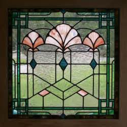 stained glass window stained glass panels stained glass windows deco shells stained glasses art deco stained