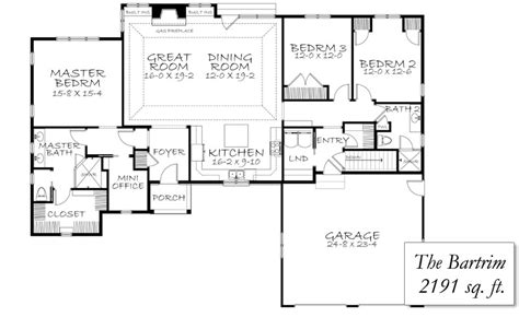 2 bedroom 2 bath ranch floor plans 3 bedroom 2 bath ranch floor plans