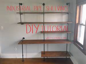 diy industrial pipe shelving for 250 wiley coyote