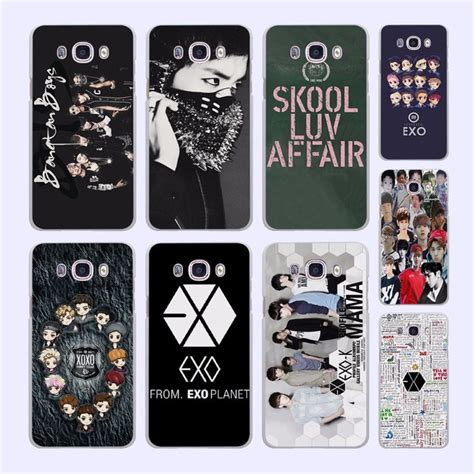 Animal 0002 Casing For Galaxy J2 Prime Hardcase 2d Exo Kpop Band Bts Boys Pattern White Cover For
