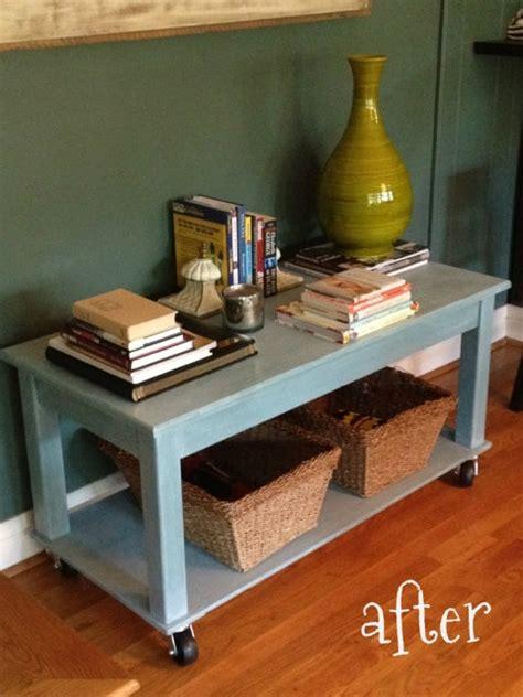 repurpose an coffee table repurposing furniture
