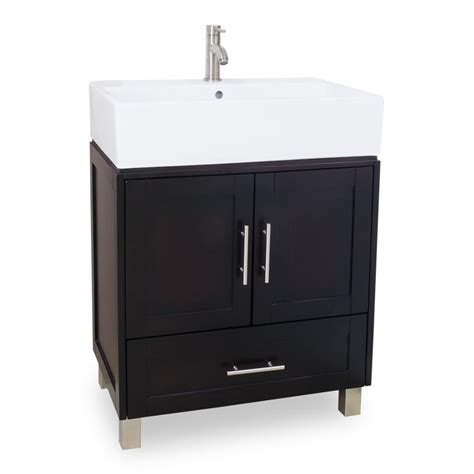 Sink For Bathroom Vanity 28 Quot York Bathroom Vanity Single Sink Cabinet Bathroom Vanities Bath Kitchen And Beyond