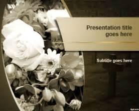 Funeral Presentation Template funeral powerpoint template