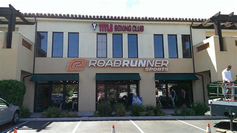 title boxing club newbury park right above road runner