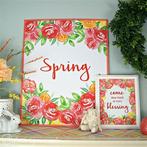 spring decor 2017 100 spring decor 2017 12 diy wall art ideas for