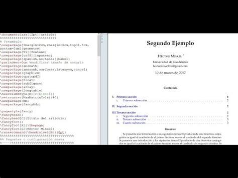 latex tutorial thesis writing latex texmaker tutorial 10 elementos b 225 sicos para