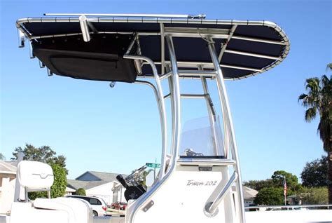 custom sea hunt boat covers sea hunt 202 new custom t top and boat cover sea hunt