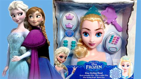 Elsa Hair Style Doll by Frozen Elsa Styling How To Comb Elsa S Hair Diy