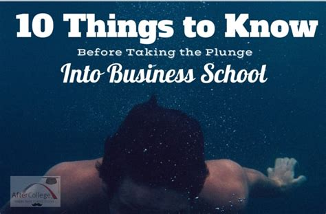 Things That Are To At Business School Mba by 10 Surprising Things About Business School Aftercollege