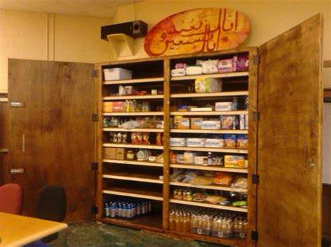 Open Cupboard Food Pantry by Food Pantry Open To All In Need Islamic Community Center