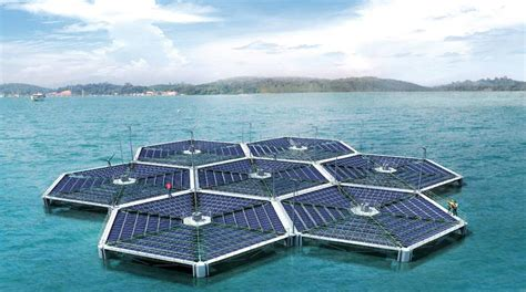island solar panel a floating solar power plant to be built in india