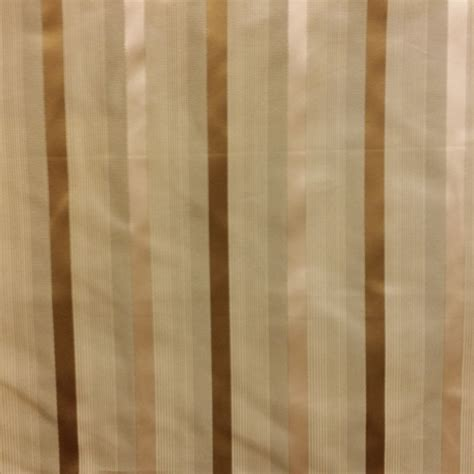 Striped Silk Fabric For Curtains Henry Lang Gold Stripe Faux Silk Drapery Fabric 56422 Buyfabrics