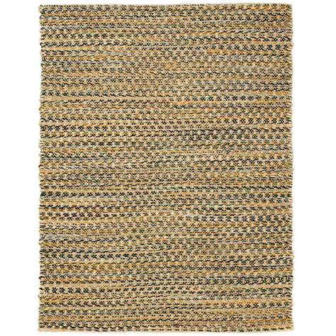 Anji Mountain Ilana Brown 8 Ft X 10 Ft Jute And Chenille 8 Ft Jute Rug