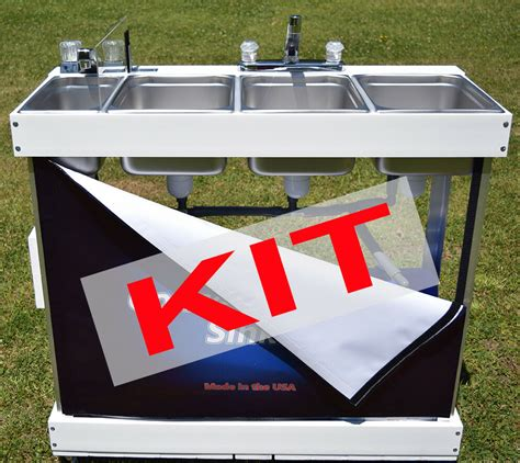 Electric Sink by Large Electric Concession Sink Kit With Parts Water
