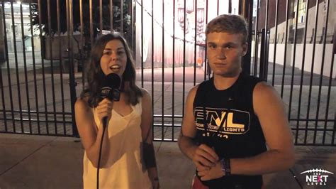 friday night lights ohio 17 ohio state qb commit tate martell interview at osu s