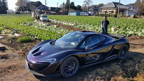 mclaren suv mclaren p1 driving through a cabbage field in japan is as