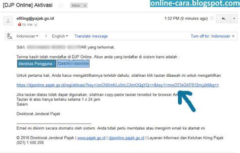 Cara Registrasi Efiling Pajak | cara daftar pajak online e filing cara online