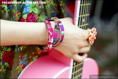 Hands With Bangles FB dp, mix colour hand bands, girls bracelets and bands, girls hand