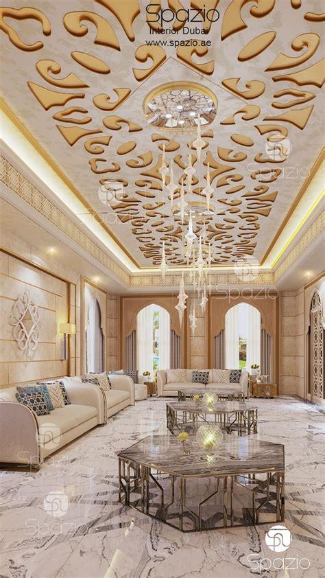 contemporary luxury arabic majlis design  dubai