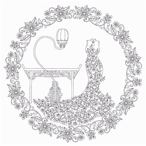 secret garden colouring book pages 96 pages 2016 s floating lace adults colouring book secret