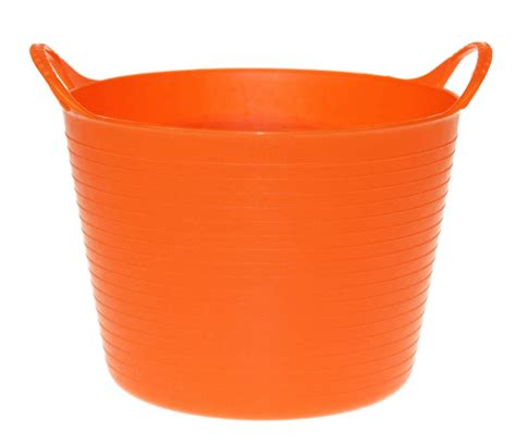 orange bathtub tubtrugs flexible micro tub orange storage and