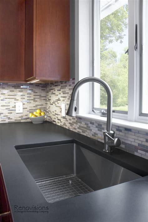 do quartz sinks stain cherries dark stains and silestone countertops on pinterest
