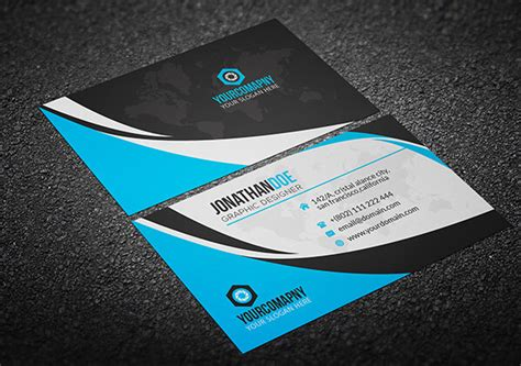 board card template psd 51 best free psd business card templates to