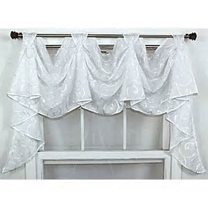victory valance rlf home brode victory 36 curtain valance snowflake