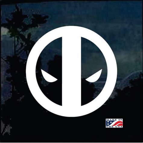 Deadpool Car Stickers
