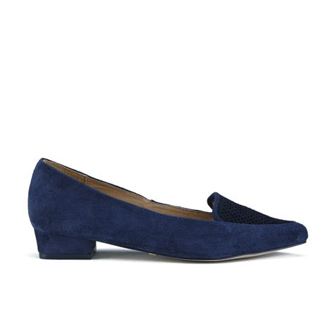 navy flat shoes ravel s anaconda suede pointed flat shoes navy