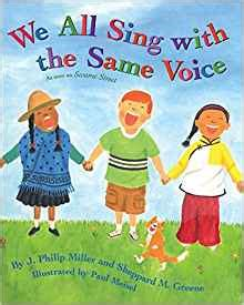 we all sing with 0060739002 we all sing with the same voice amazon co uk j philip miller sheppard m greene paul meisel