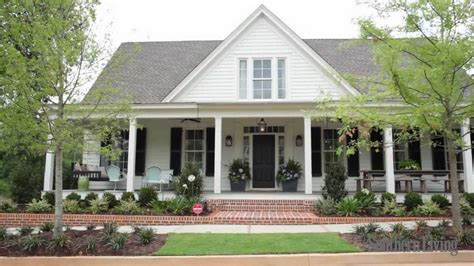 southern living house plans with wrap around porch 2018