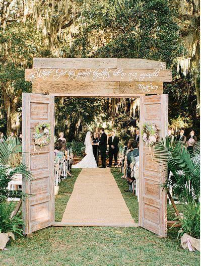 Wedding Ceremony Doors by Decorative Ceremony Doors