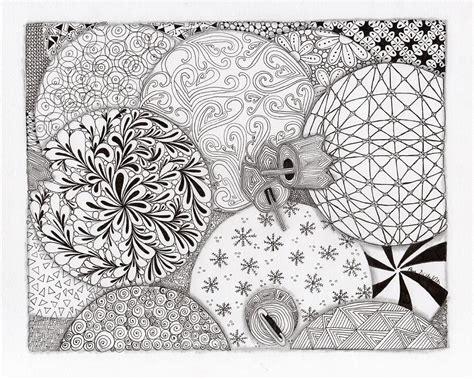 ornaments galore drawing by paula dickerhoff