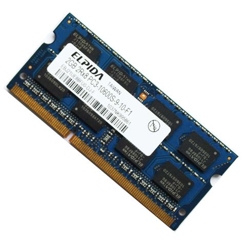 Ram Laptop Ram Laptop elpida 2gb ddr3 pc3 10600 1333mhz laptop memory ram