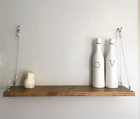 hanging bathroom shelves hanging shelf floating shelf bathroom decor wall shelf