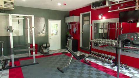 Garage Gym Makeover Video   DIY